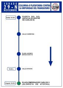 Columna 8 Plataforma contra la impunidad del franquismo
